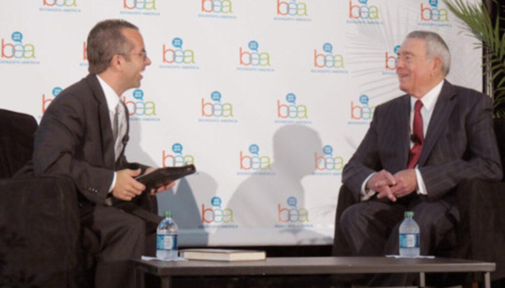 Non Fiction Corner: Dan Rather At BEA 2012
